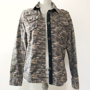 Urban Outfitters BDG camo shirt jacket